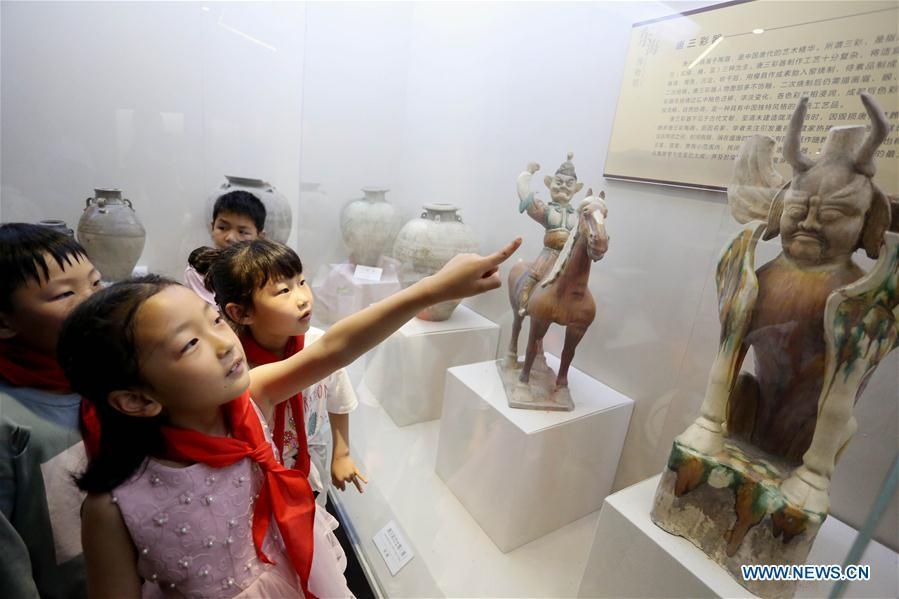 Children Visit Museums on Intl Museum Day
